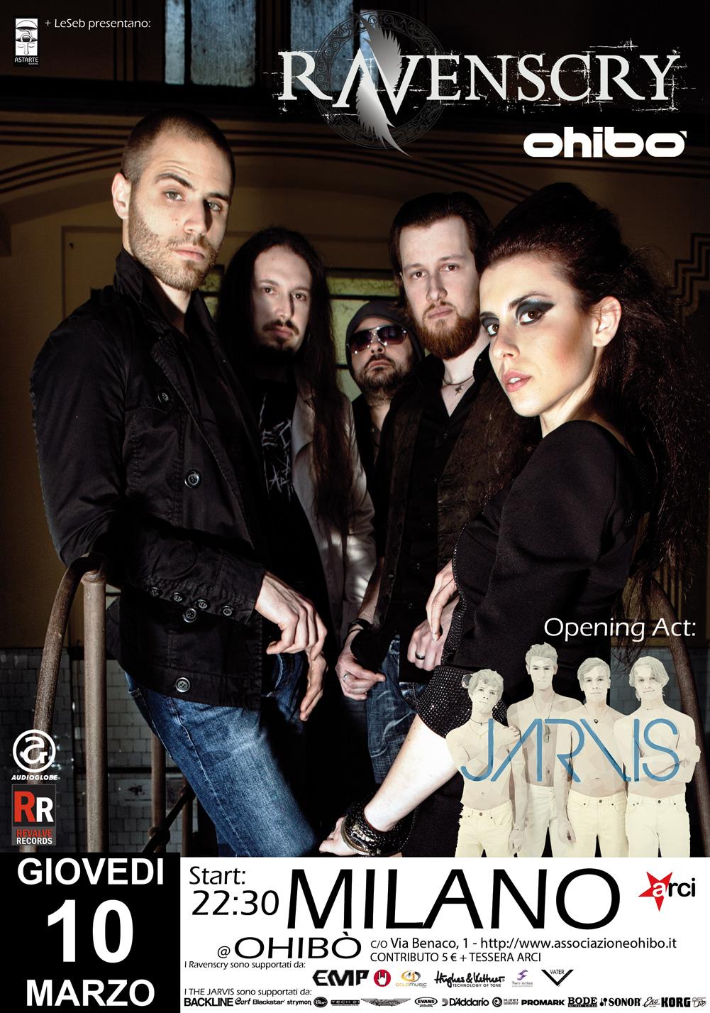 Ravenscry Live Milano