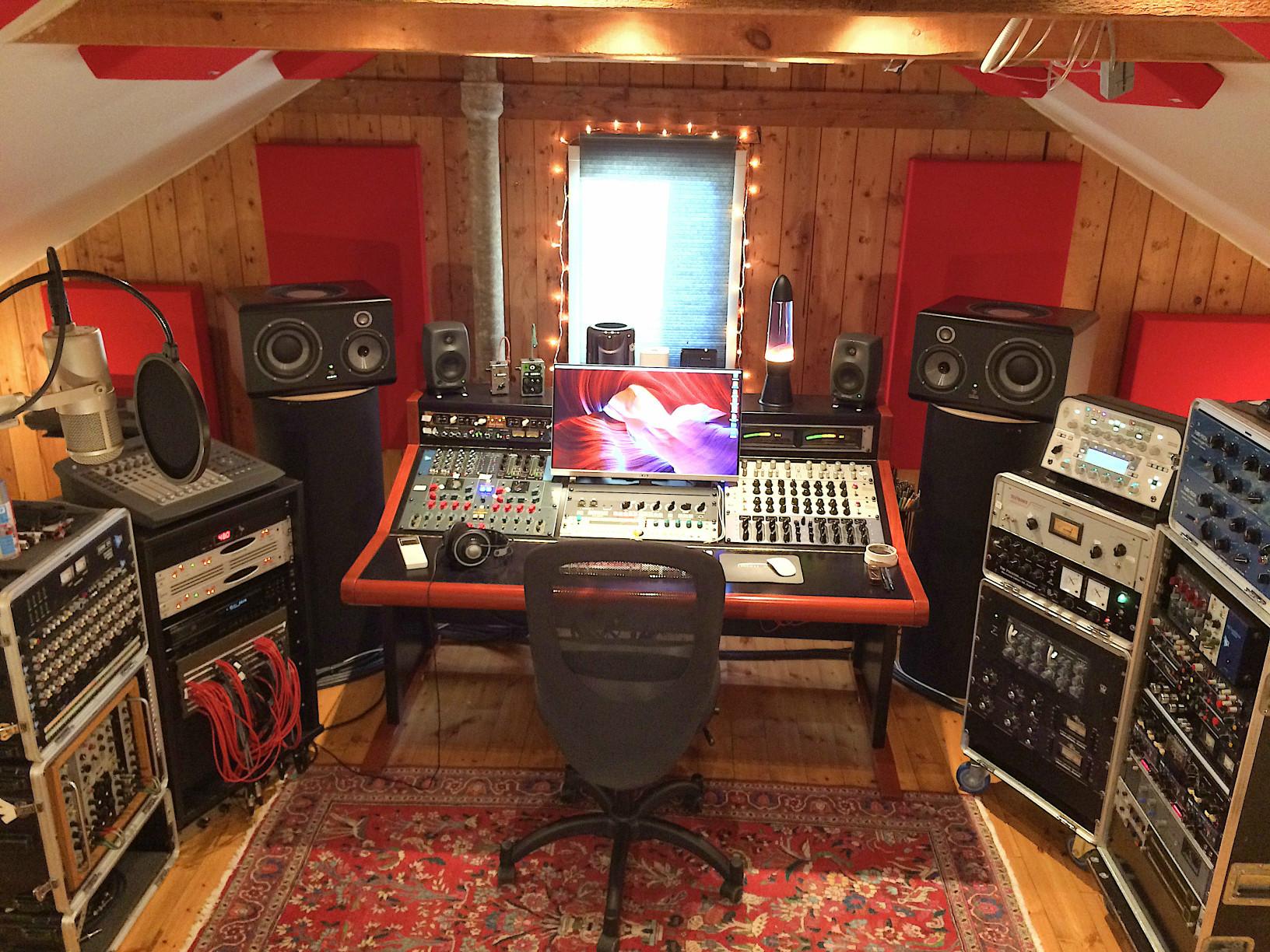 Oral Majority Recordings Control Room