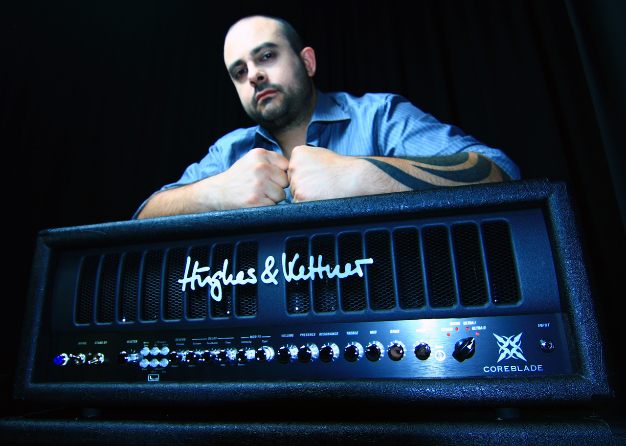 Paul Raimondi with Hughes & Kettner Coreblade