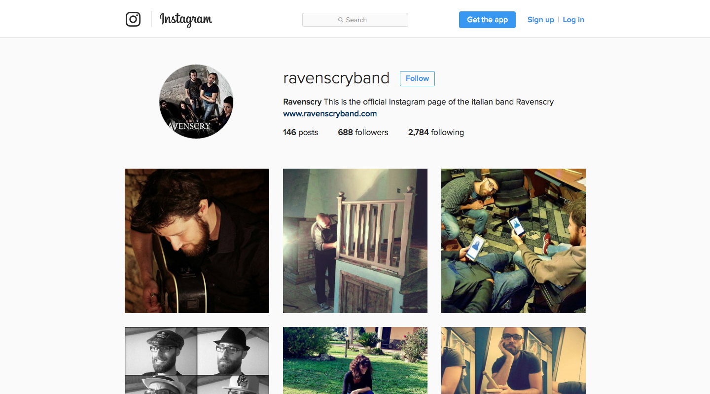 Ravenscry Instagram
