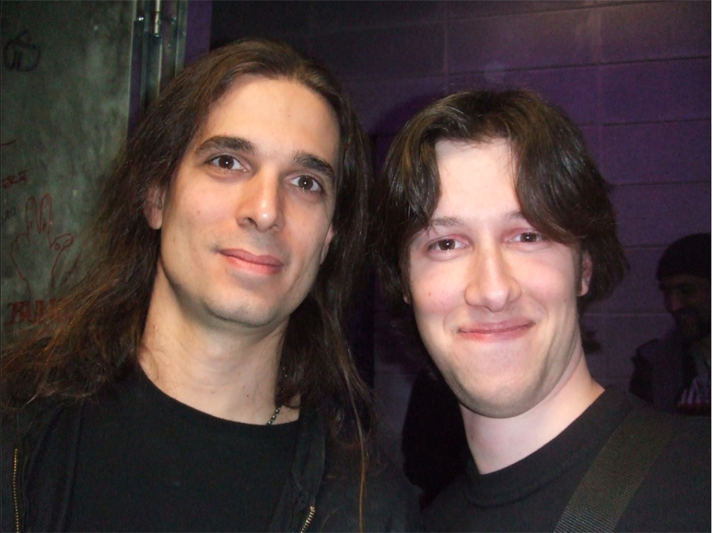 Me and Kiko Loureiro