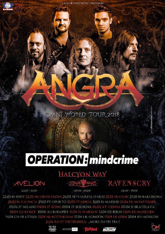 angra tour